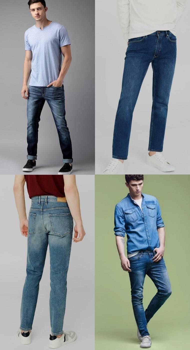 Usar jeans perna o cabelo da dói ao