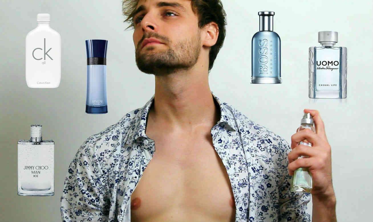 Homem No Espelho - Perfumes de verão