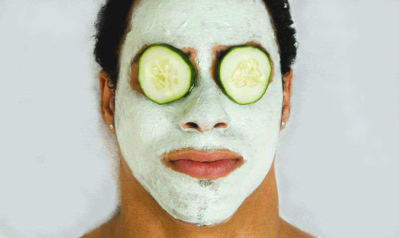 Homem No Espelho - Receitas caseiras para cuidar do rosto - olheiras - espinhas - acne - esfoliação - hidratação
