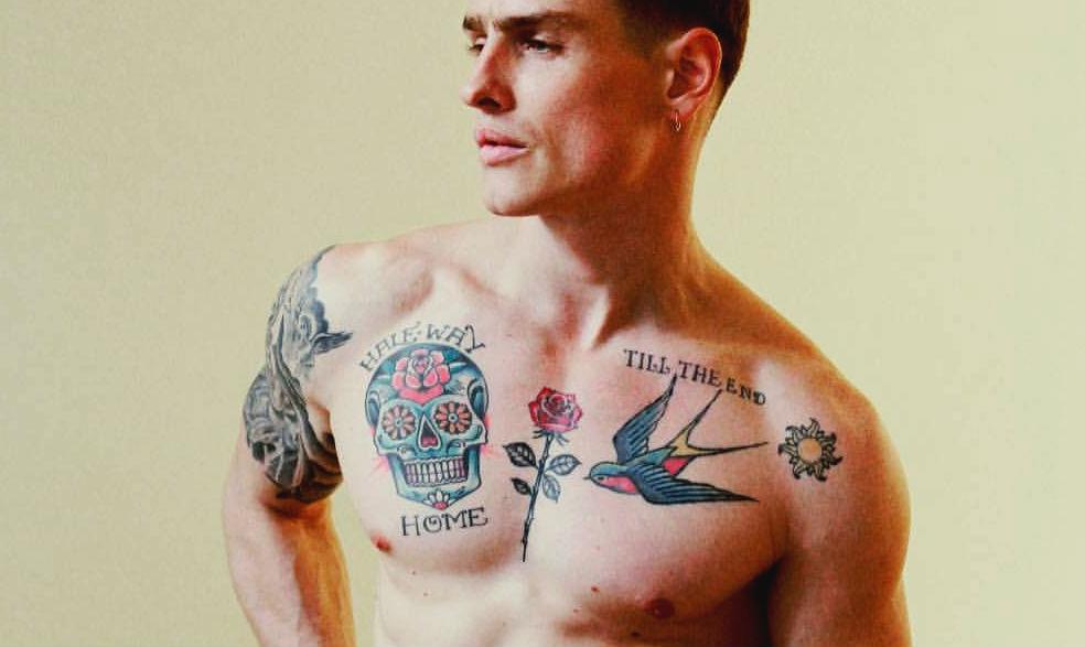 Homem No Espelho - Estilos de tatuagens masculinas - Tattoos-Ideias