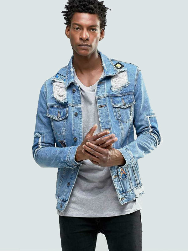 Homem No Espelho - Como usar jaqueta jeans - moda masculina