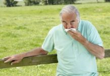 Colds in elderly