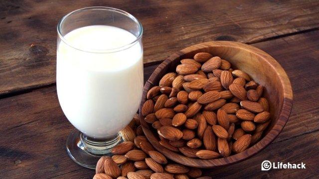 Health benefits of almonds, alomond milk