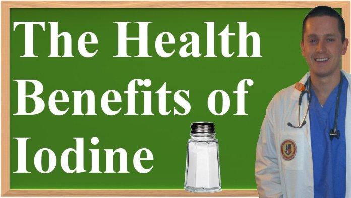 health benefits of iodine