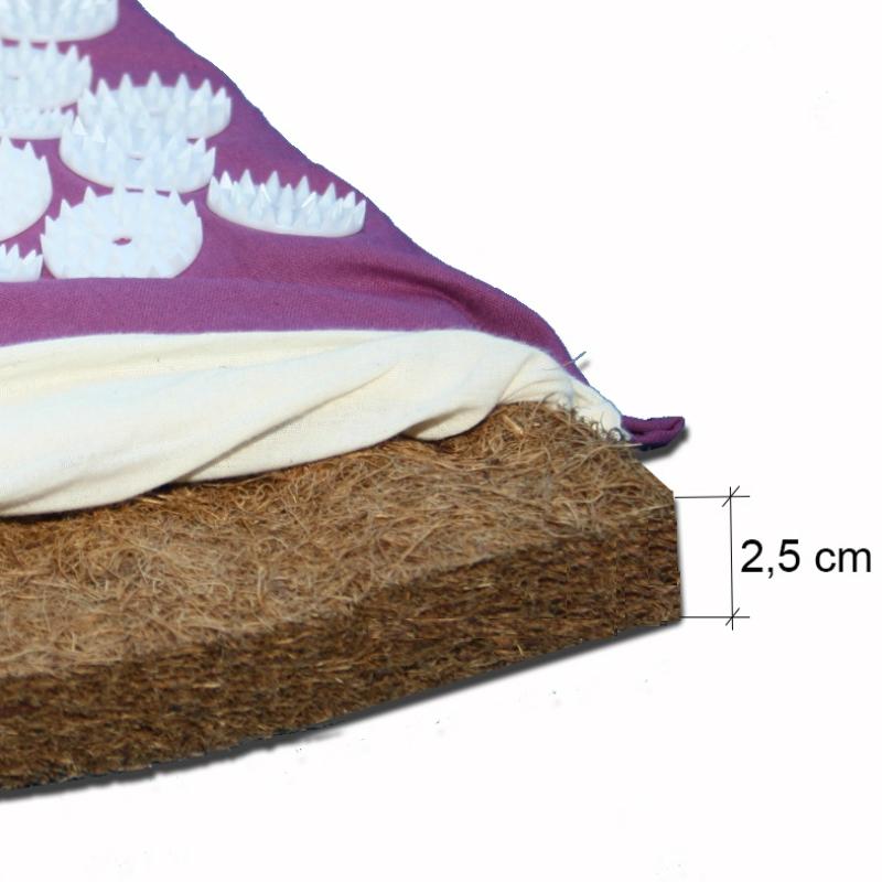 tapis d acupression avec fibre de coco homeocase