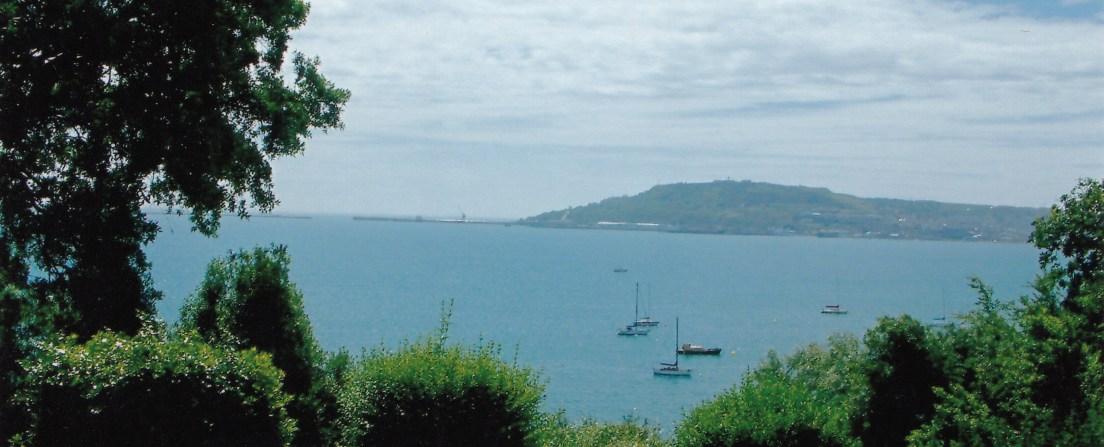 Home of Devenish view of harbour from Devenish Warren
