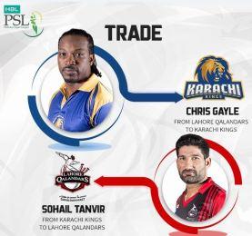 Chris Gayle, Babar and Sangakara will play for Karachi Kings