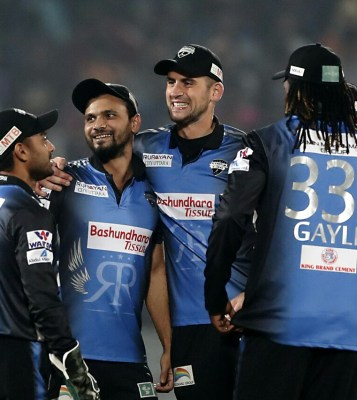 Rangpur Riders have clinched the fifth victory in a row