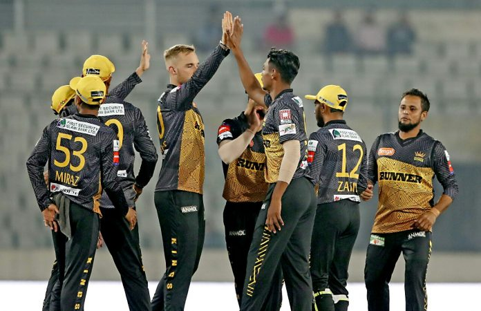 Kings beat table-toppers Vikings by 7 runs