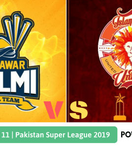 Pakistan Super League 2019 Match 11 Islamabad United vs Peshawar Zalmi