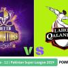 Preview: Pakistan Super League 2019, Match 12, Quetta Gladiators vs Lahore Qalandars