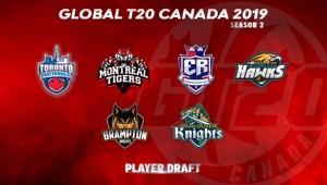 GT20 Canada Player Draft season 2 Live Streaming