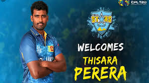Thisara Perera now available for all CPL matches