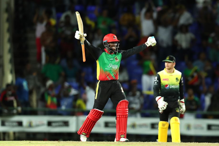 Patriots upstage Gayle as sixes fly and records tumble in Warner Park thriller