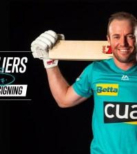 AB de Villiers Joins Brisbane Heat in the Big Bash League