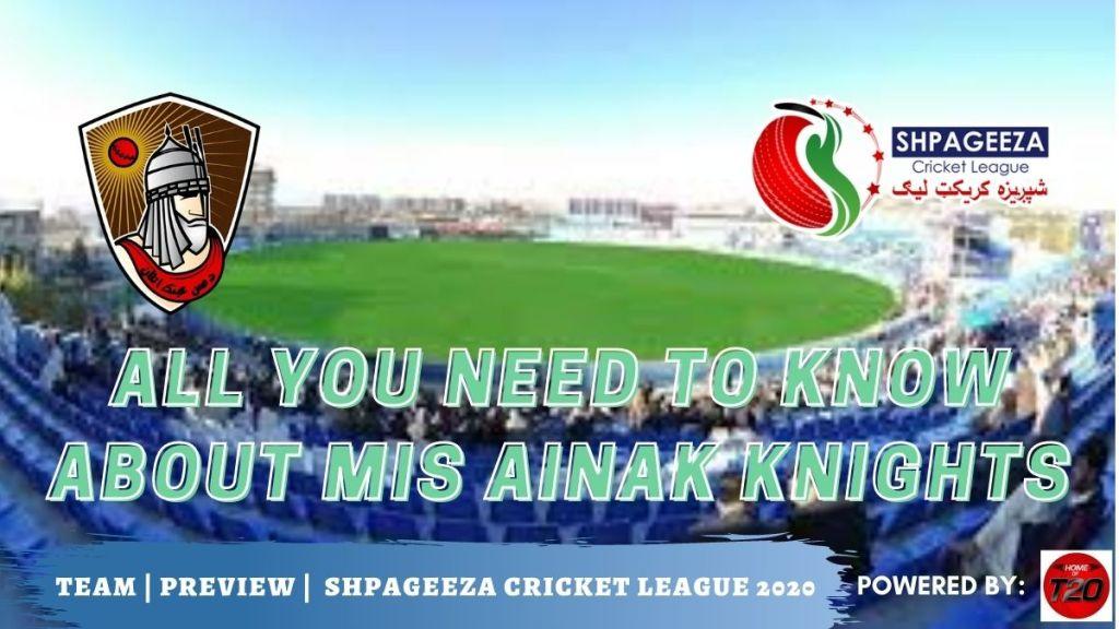 Shpageeza Cricket League Mis Ainak Knights
