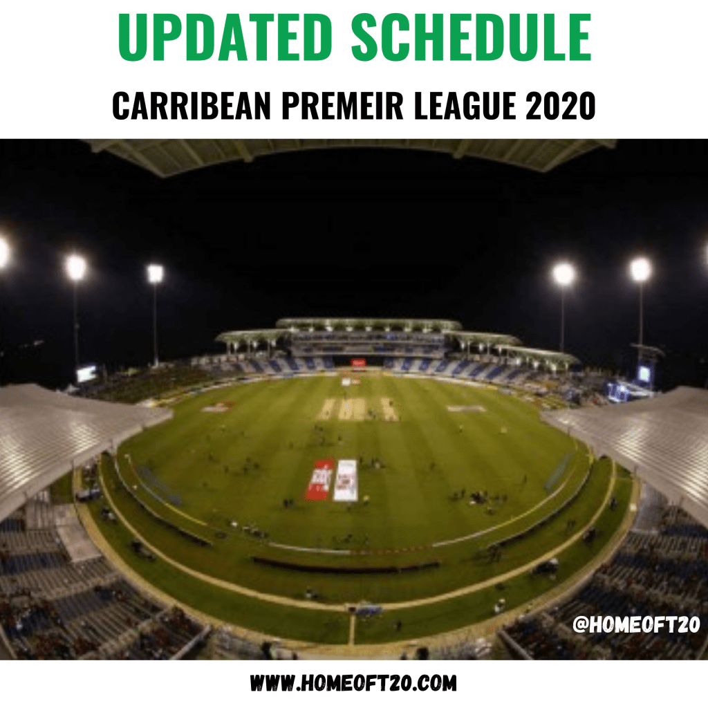 CPL 2020 Schedule and Results