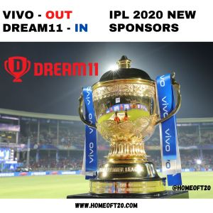 Dream11 wins IPL 2020 title sponsorship rights