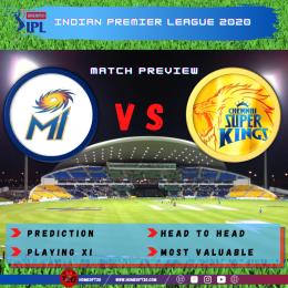 Preview: IPL 2020 Match 1 Mumbai Indians vs Chennai Super Kings