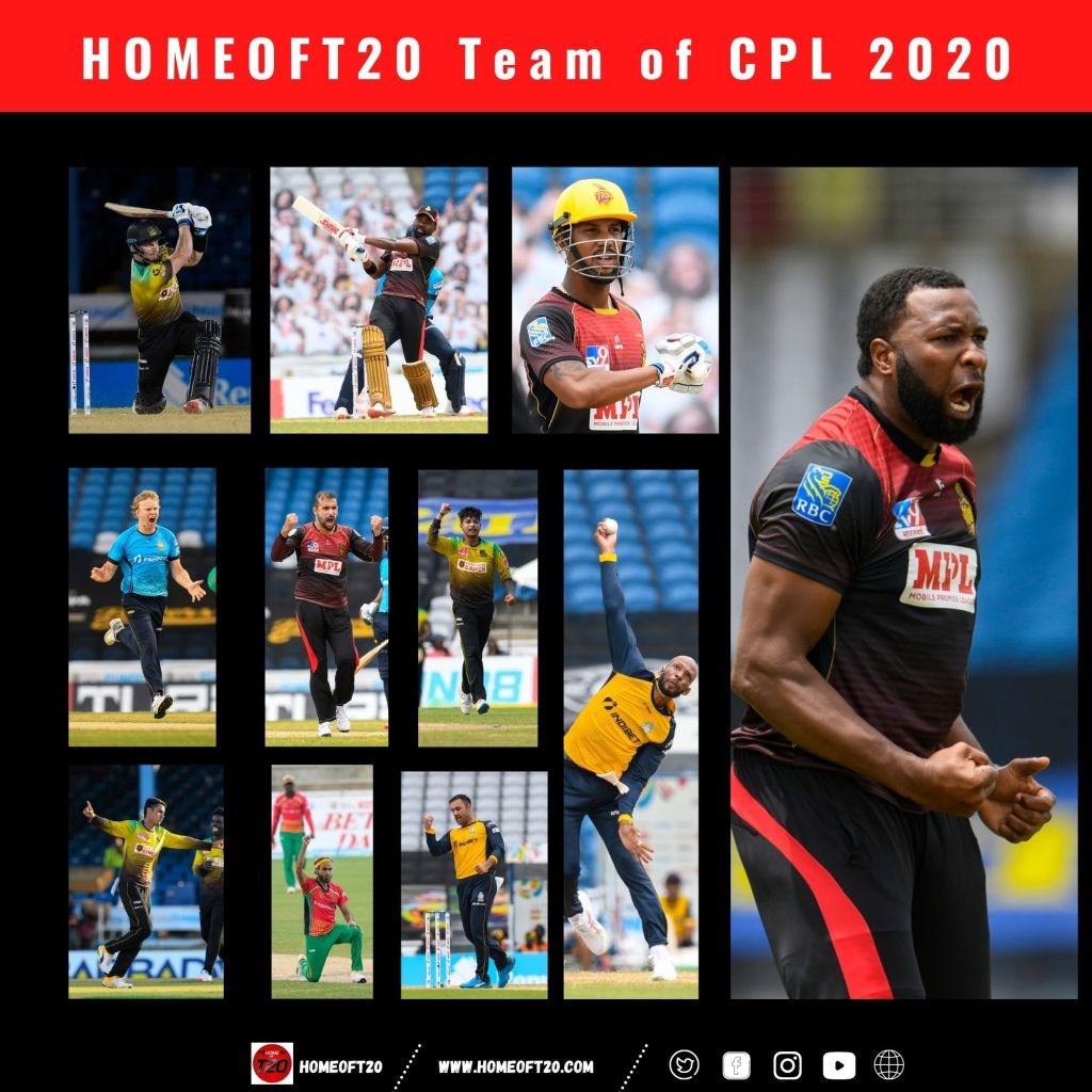Home of T20 Team of the Caribbean Premier League 2020