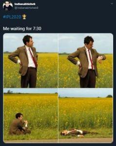 IPL 2020 fans shared some amazing memes