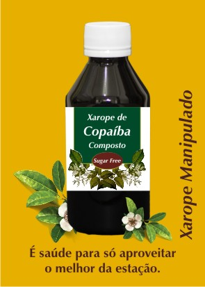 Xarope de Copaiba Sugar Free