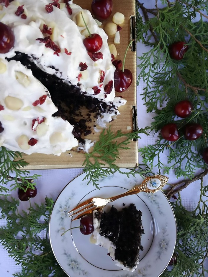 nutriseed not-so-naughty gluten-free christmas cake