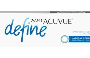 Acuvue 1 day Acuvue Define  30 pk   12 for  eye