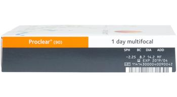 Coopervision Proclear 1Day Multifocal 90pk