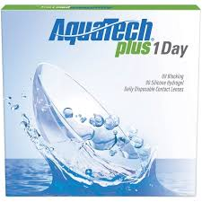 AquaTech Plus 1 Day 90 pk  4 for eye