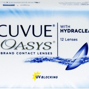 ACUVUE® OASYS® with HYDRACLEAR® PLUS 12pk