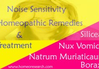 Noise sensitivity homeopathic remedies