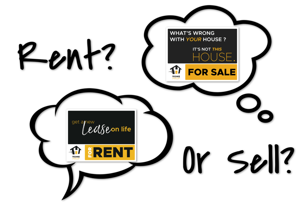 Rent or Sell? How Do You Decide