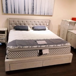 Storage Bed, 4 Drawers