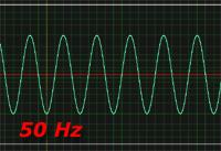 forma d'onda 50 Hz