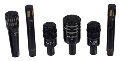 kit microfoni batteria