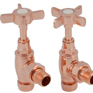 Towel Rail 15mm Inlet Manual Valve (Copper) Carron_Home Refresh
