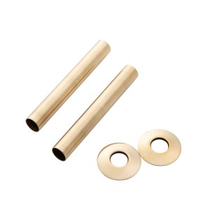 Home Refresh Arroll 130mm Pipe Shroud– Antique Brass