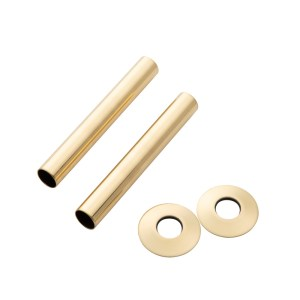 Home Refresh Arroll 130mm Pipe Shroud – Old English Brass