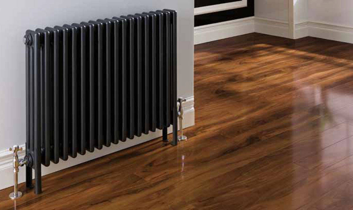 Home Refresh Enderby 2 Column, 10 Section Steel Radiator – 710mm Main