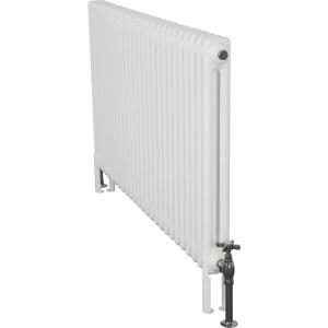 Home-Refresh-Enderby-2-Column-26-Section-Steel-Radiator-710mm-Farrow-and-Ball-White-Colour-Finish