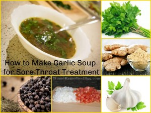 How to Make Garlic Soup for Sore Throat