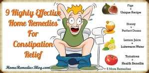 9 Effective Home Remedies For Constipation Relief