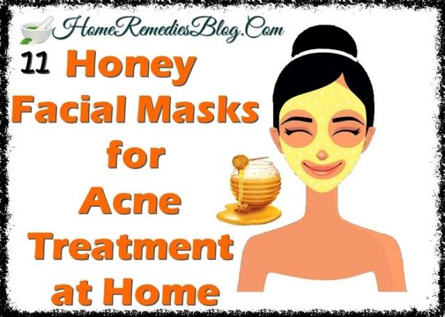 11 Honey Facial Masks for Acne Home Treatment