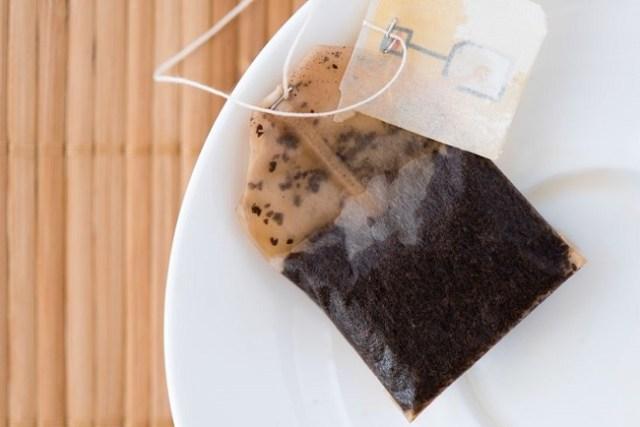 Black Tea Bag Warm Compress For Stye Eye