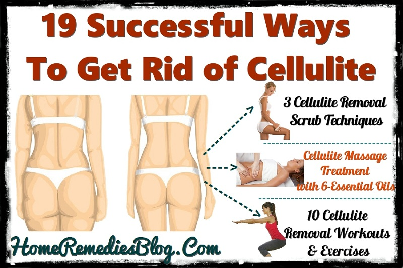 Cellulite Treatments-19 Successful Ways to Get Rid of Cellulite at Home