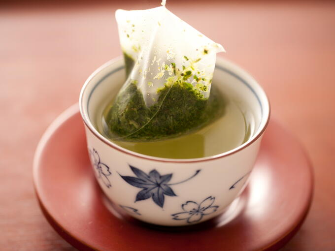 Green Tea Bag for Stye Treatment