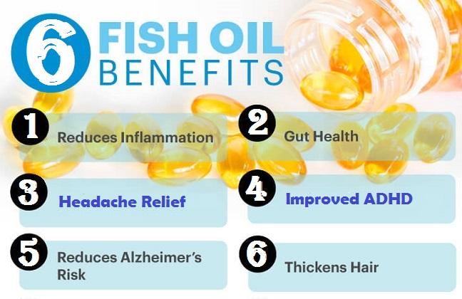 6 Fish Oil Benefits