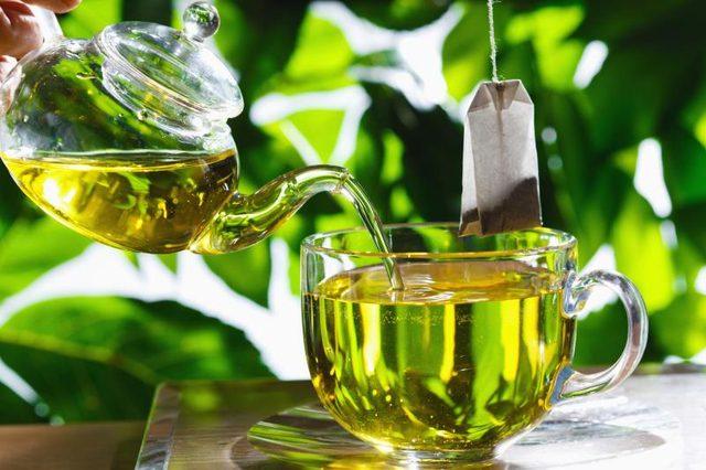 Green Tea Making