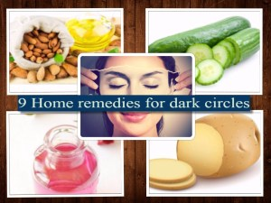 Dark circles home remedies